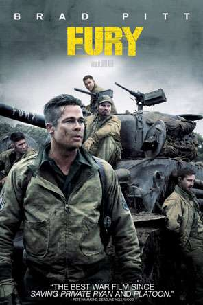 Fury, Movie on DVD, Action