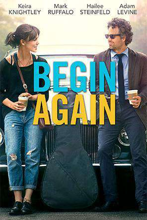 Begin Again, On Demand Movie, Comedy DigitalMovies, Drama