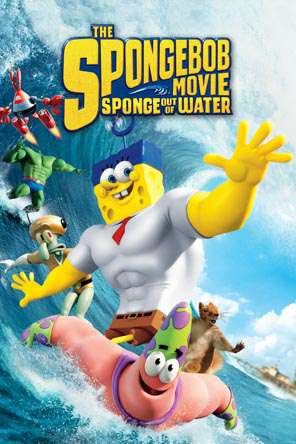Spongebob: Sponge Out Of Water, Movie on DVD, Family