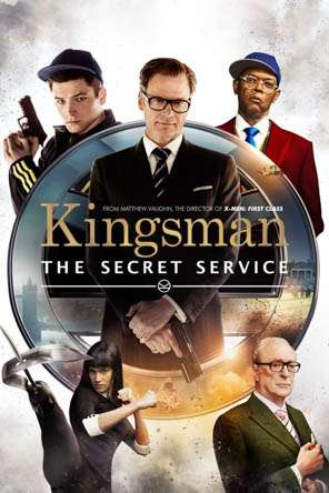 Kingsman: The Secret Service, Movie on DVD, Action