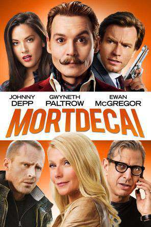 Mortdecai, Movie on DVD, Comedy