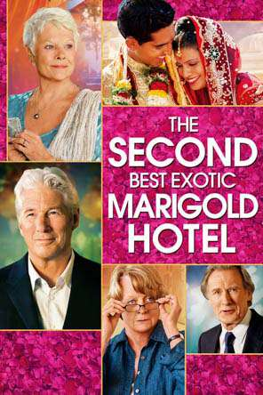 The Second Best Exotic Marigold Hotel, Movie on DVD, Comedy Movies, Drama