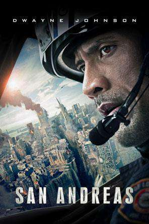San Andreas, Movie on DVD, Action Movies, Thriller & Suspense