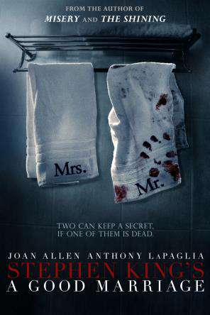 Stephen King's A Good Marriage, Movie on DVD, Horror Movies, Thriller & Suspense