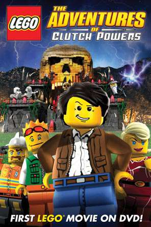 LEGO: The Adventures Of Clutch Powers (2010), Movie on DVD, Adventure Movies, Animated Movies, Family