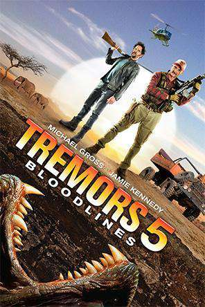 Tremors 5, Movie on DVD, Action Movies, Adventure Movies, Horror Movies, Thriller & Suspense