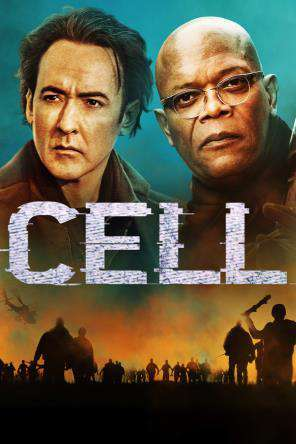 Cell (2015), Movie on DVD, Horror Movies, Thriller & Suspense