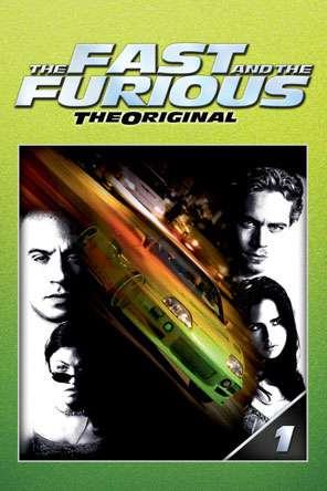 The Fast and the Furious (2001), Movie on DVD, Action Movies, Adventure Movies, Special Interest Movies, Thriller & Suspense
