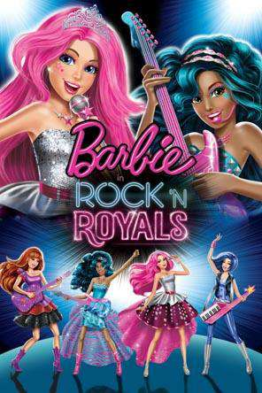 Barbie in Rock N Royals, Movie on DVD, Animated Movies, Kids Movies, Family Movies, Special Interest