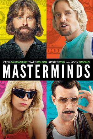 Masterminds, Movie on DVD, Comedy