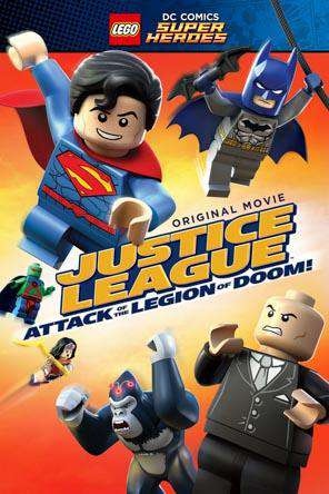 LEGO DC Super Heroes: Justice League: Attack of the Legion of Doom!, Movie on DVD, Action Movies, Adventure Movies, Animated Movies, Kids Movies, Family