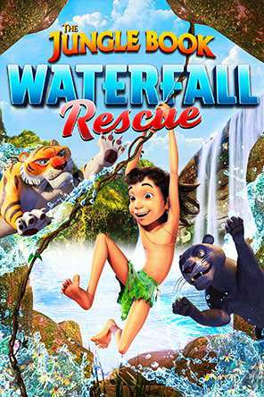 Jungle Book: Waterfall Rescue, Movie on DVD, Animated Movies, Kids Movies, Family