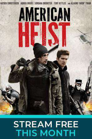 American Heist, Movie on DVD, Action