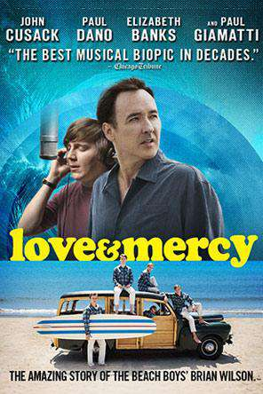 Love & Mercy, Movie on DVD, Drama Movies, Special Interest