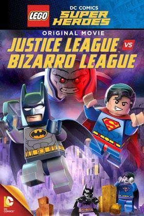 LEGO DC Super Heroes: Justice League vs. Bizarro League, Movie on DVD, Family
