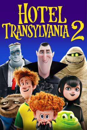 Hotel Transylvania 2, Movie on DVD, Family
