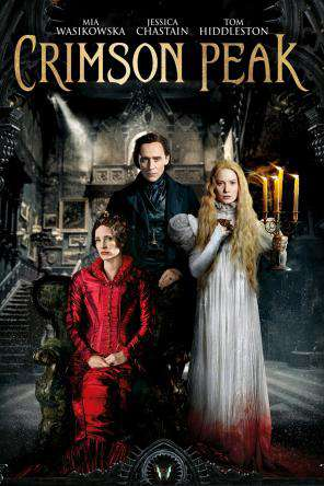 Crimson Peak, Movie on DVD, Horror Movies, Drama Movies, Romance
