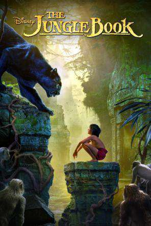 The Jungle Book (2016), Movie on DVD, Adventure Movies, Family