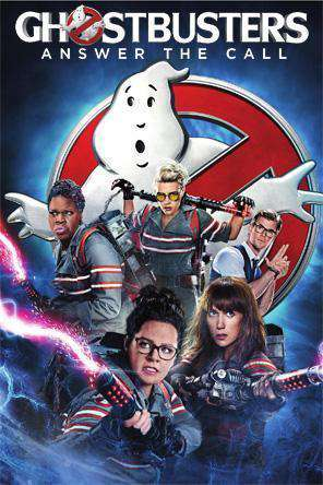 Ghostbusters (2016), Movie on DVD, Comedy Movies, Thriller & Suspense