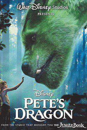 Pete's Dragon (2016), Movie on DVD, Family