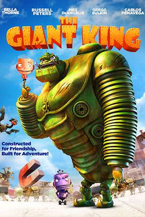 The Giant King, Movie on DVD, Adventure Movies, Animated Movies, Kids Movies, Family