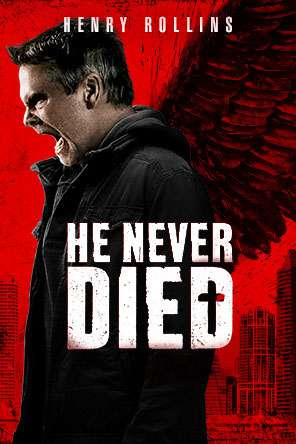 He Never Died, Movie on DVD, Comedy Movies, Horror