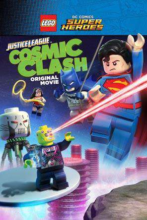LEGO DC Super Heroes: Justice League: Cosmic Clash, Movie on DVD, Family