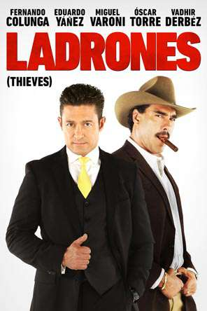 Ladrones, Movie on DVD, Action Movies, Comedy