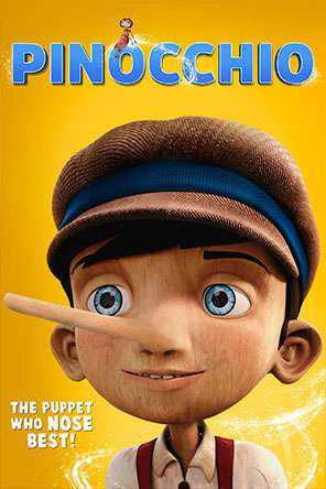 Pinocchio (2015), Movie on DVD, Family Movies, Special Interest