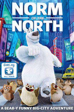 Norm Of The North, Movie on DVD, Family