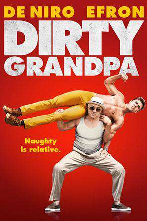 Dirty Grandpa, Movie on DVD, Comedy