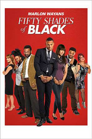Fifty Shades of Black, Movie on DVD, Comedy