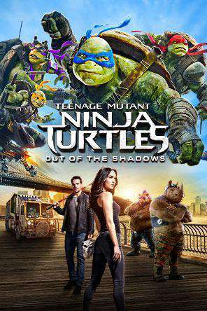 Teenage Mutant Ninja Turtles: Out of the Shadows, Movie on DVD, Action Movies, Adventure