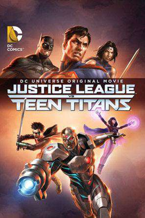 DCU Justice League vs Teen Titans, Movie on DVD, Action