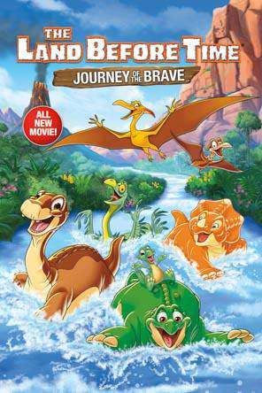 Land Before Time: Journey of the Brave, Movie on DVD, Animated Movies, Family