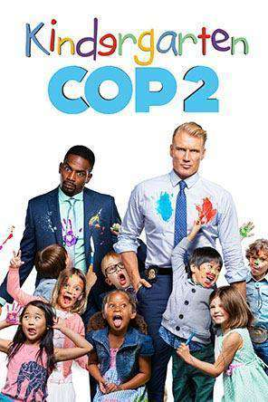 Kindergarten Cop 2, Movie on DVD, Action Movies, Comedy