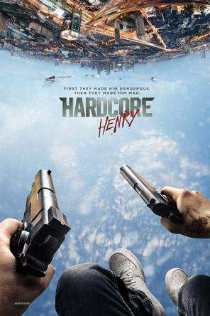 Hardcore Henry, Movie on DVD, Action Movies, Sci-Fi & Fantasy