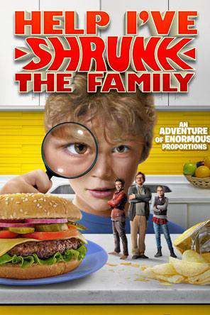 Help I've Shrunk the Family, Movie on DVD, Adventure Movies, Family Movies, Special Interest