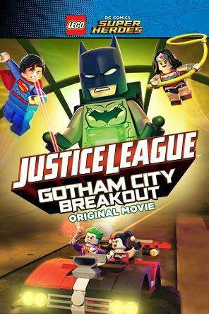 LEGO DC Super Heroes: Justice League: Gotham City Breakout, On Demand Movie, Action DigitalMovies, Adventure DigitalMovies, Animated DigitalMovies, Family DigitalMovies, Kids