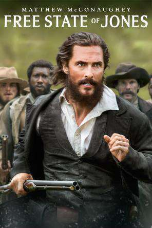 Free State of Jones, Movie on DVD, Action Movies, Drama