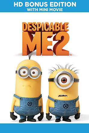 Despicable Me 2 HD Bonus Edition, On Demand Movie, Comedy DigitalMovies, Family